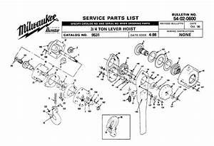 Buy Milwaukee 9531 4 Ton Hand Chain Hoist