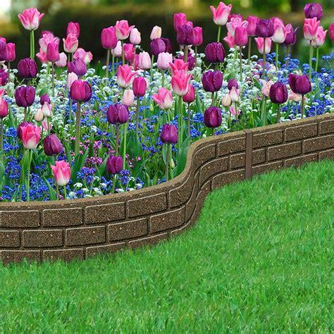 recycled rubber lawn edging border bricks hcm