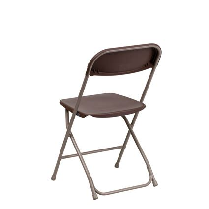 brown folding chair liberty event rentals