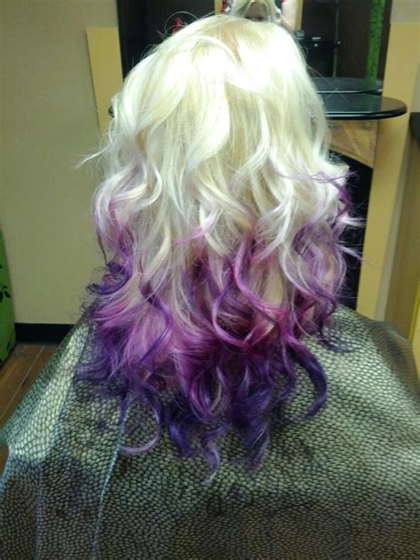 Blonde Pink Purple Ombre Love It
