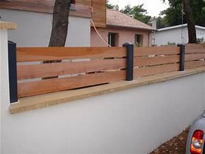 Muret De Cloture : cloture aluminium lyon 69 ~ Melissatoandfro.com Idées de Décoration