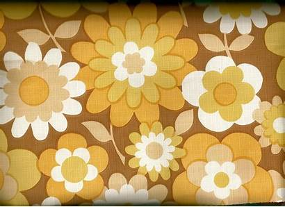 70s Wallpapers Backgrounds Parati Carta Floral Brown