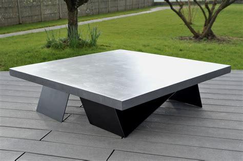 table beton cire prix table de lit