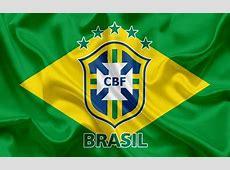 Download wallpapers Brazil national football team, logo