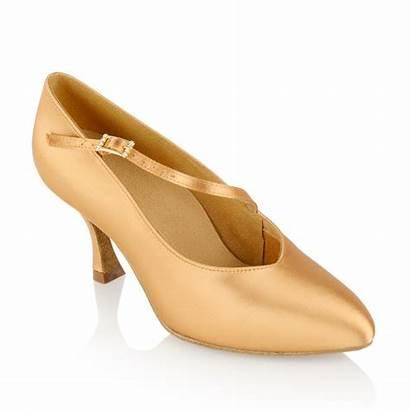 Shoes Ballroom Dance Satin Flesh Standard Nimbus