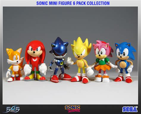 sonic mini figure  pack collection
