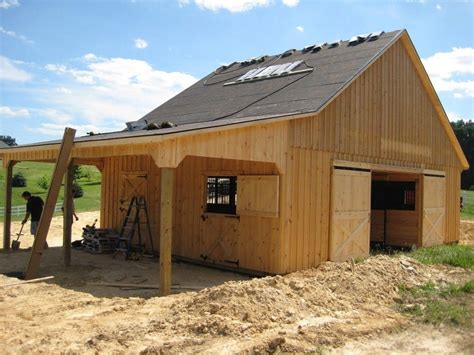 barns with living quarters equine barns barn construction contractors in cross