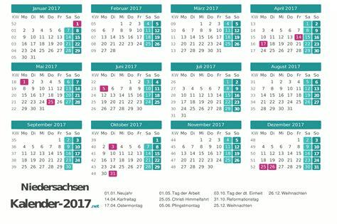 kalender niedersachsen