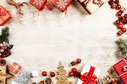 Christmas Backgrounds Floral Advertisement