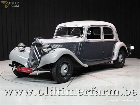 Classic 1952 Citroen Traction Avant 11bl For Sale #9622