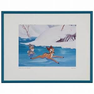 """frame disney artwork """"Some fun, huh Bambi?"""""""