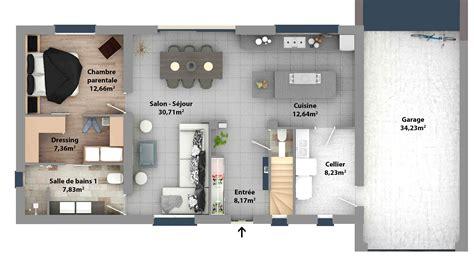 plan chambre parentale plan suite parentale avec salle bain dressing top idee