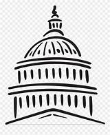 Capitol Easy Congress Clipart Drawing Building Draw Clip Webstockreview Cliparts Library Found sketch template