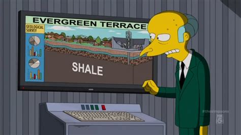 'The Simpsons' Targets Evil Fracking