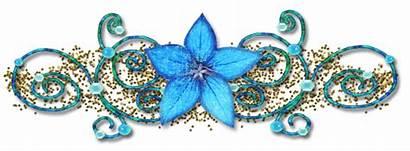 Glitter Graphics Divider Dividers Separadores Flower Gifs