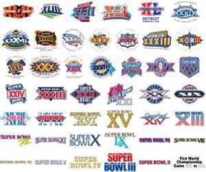 Super Bowl Logo History