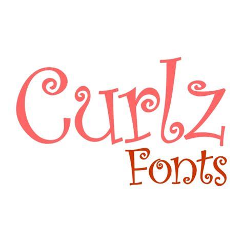 curlz monogram svg cuttable font