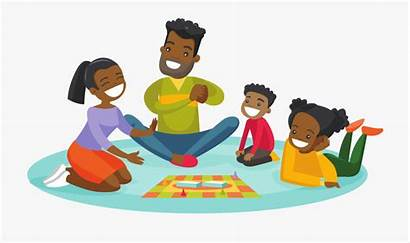 Clipart Playing Board Parent African Activity Kid