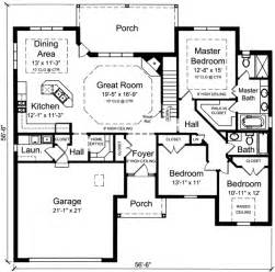 3 bedroom house plan architectural designs