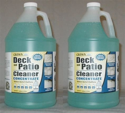 deck patio cleaner  gallon pack