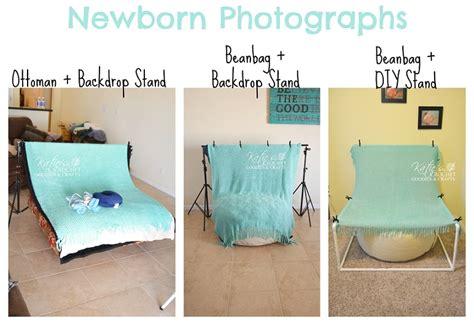 newborn posing beanbag pvc beanbag stand