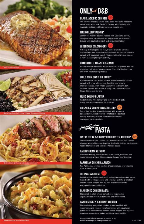 dave  busters menu google search  images