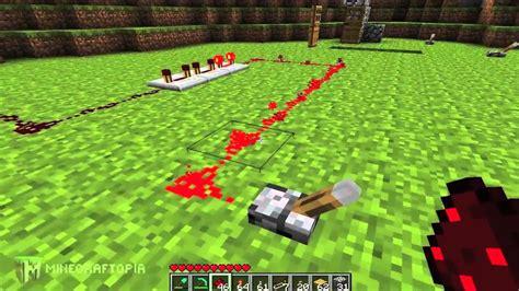 Minecraft Tutorial Basic Redstone Circuits Minecraftopia