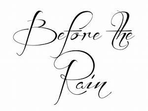 Fancy Fonts | da font before the rain font squirel brock ...