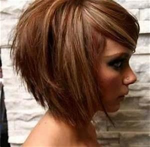 Coupe Carré Visage Rond : coiffure femme visage carre cheveux fins ~ Melissatoandfro.com Idées de Décoration