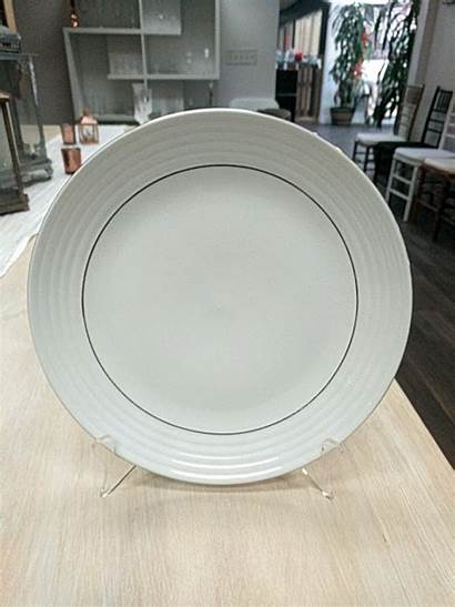 Gold Plate Double Dinner Rim Plates Rentals