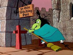 broom stick bunny witch hazel by cauldron bugs bunny