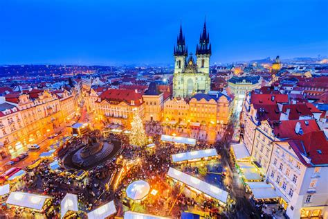 prague christmas markets voted  europes top
