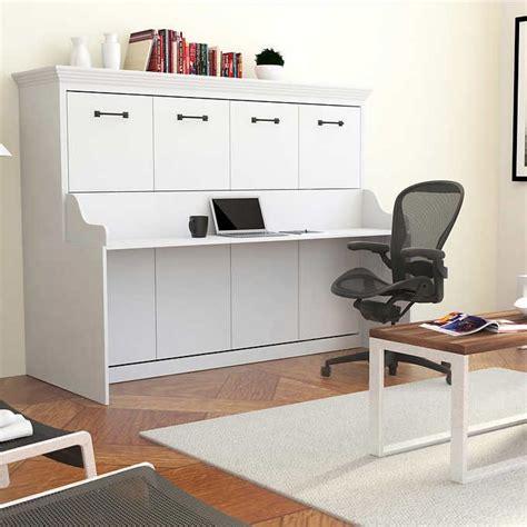 Schreibtisch Bett Kombination by Melbourne Wall Bed W Desk Combo White Sofabeds
