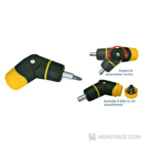 stubby angle ratchet screwdriverhandy age