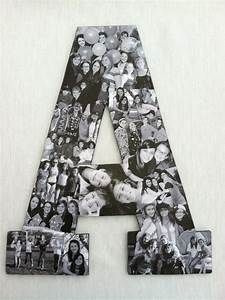 custom photo collage letter girlfriend by picketfencecrafts With photo collage letters online