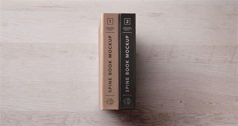 psd hardback book spine mockup psd mock  templates pixeden