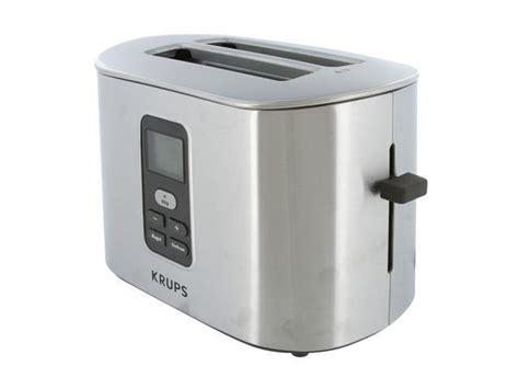 krups 2 slice toaster krups tt6190 toasters newegg