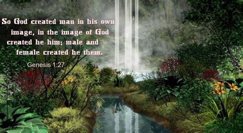 Genesis 1:27 - in the image of God | Genesis 1 27, Genesis ...