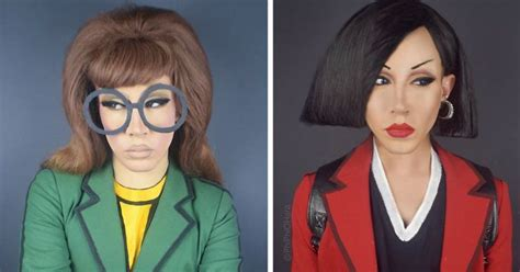 Drag Queen Turns Herself Into Our Favorite '90s Cartoon