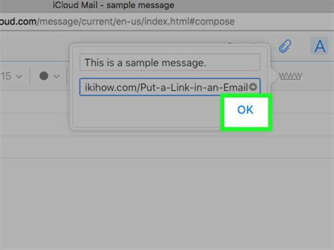 simple ways  put  link   email wikihow