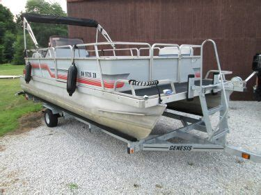 Used Pontoon Boat Trailers For Sale In Ohio by Used Pontoon Boats For Sale In Ohio Portage Lakes Marine