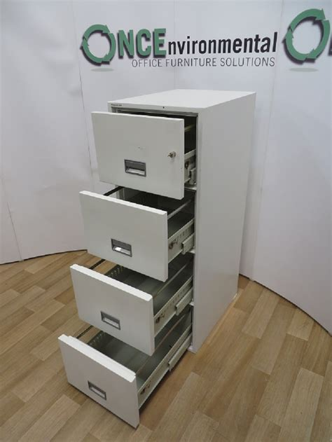 used office storage phoenix 2204 fireproof 4 drawer filing