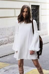 Robe Blanche Longue Boheme : 1001 photos de la robe boh me blanche pour tre en top des tendances magazine ~ Preciouscoupons.com Idées de Décoration