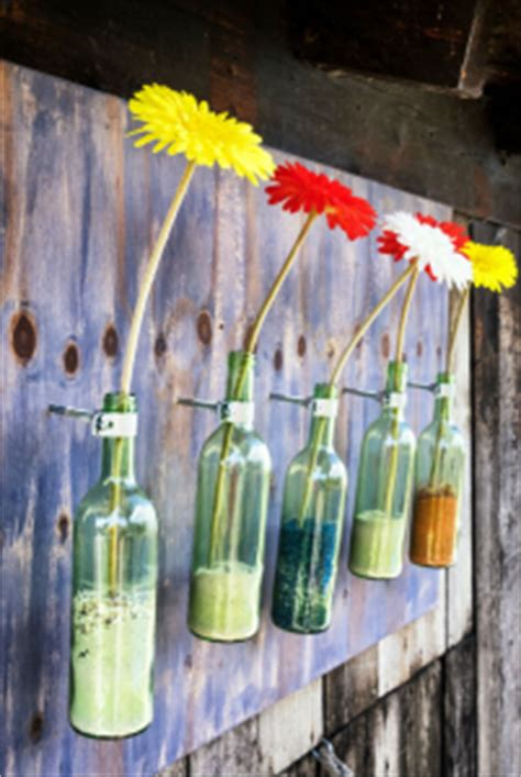 Vasen selber machen aus Flaschen  Meine Kartenmanufaktur