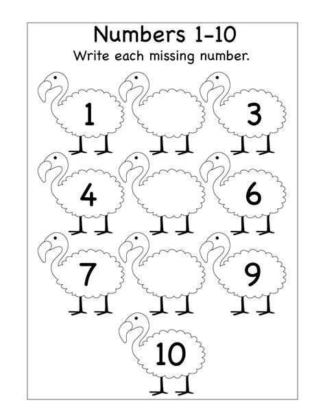 math test addition  subtraction tracing numbers