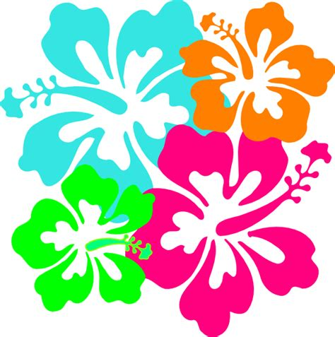 hibiscus flower hibiscus clip art at clker com vector clip art online royalty free public domain