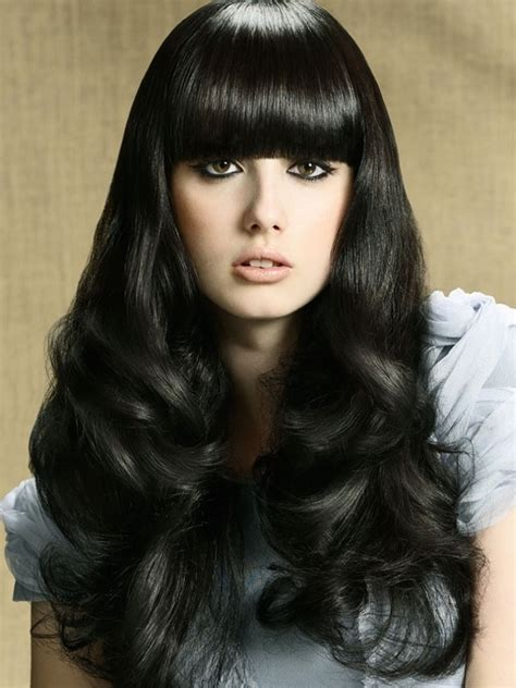 Images Of Black Hairstyles With Bangs by Hairstyles Hairstyles With Bangs Black