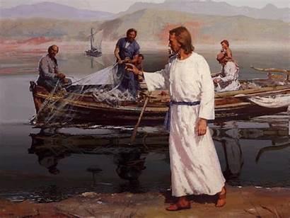Jesus Fishers Zebedee John Followers Calls James