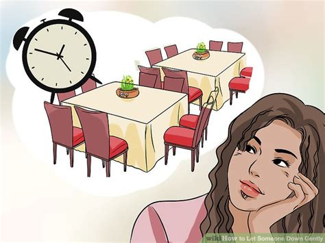 How To Let Someone Down Gently (with Pictures) Wikihow