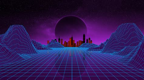 80s Neon City Wallpaper by Details Metaverse Lab Hackaday Io 80s 90s Vr